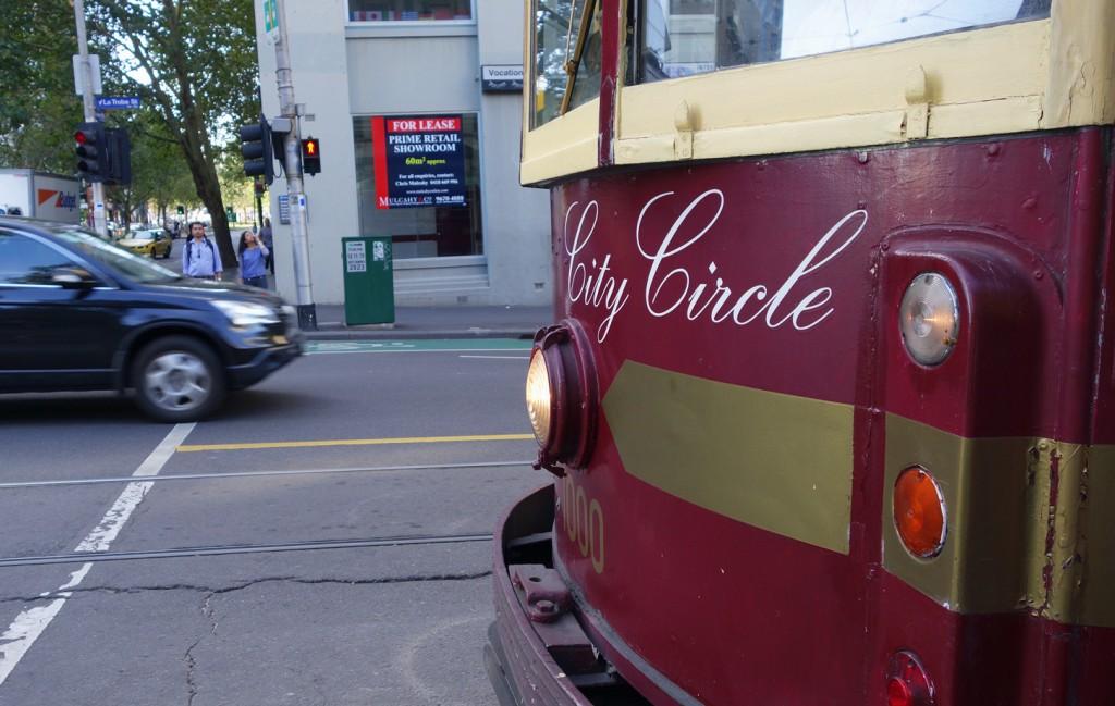 Le tramway City Circle de Melbourne