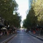 Collins Street à Melbourne