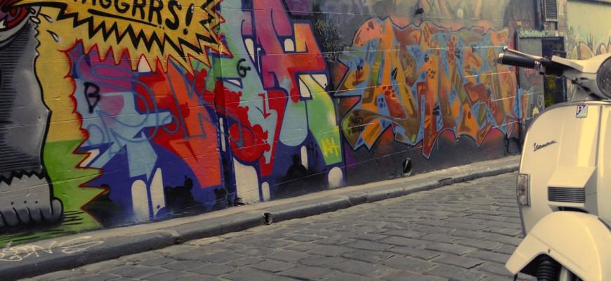 Street art à Hoser Lane, Melbourne