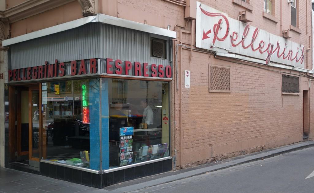 Pellegrini's Expresso Bar, Melbourne