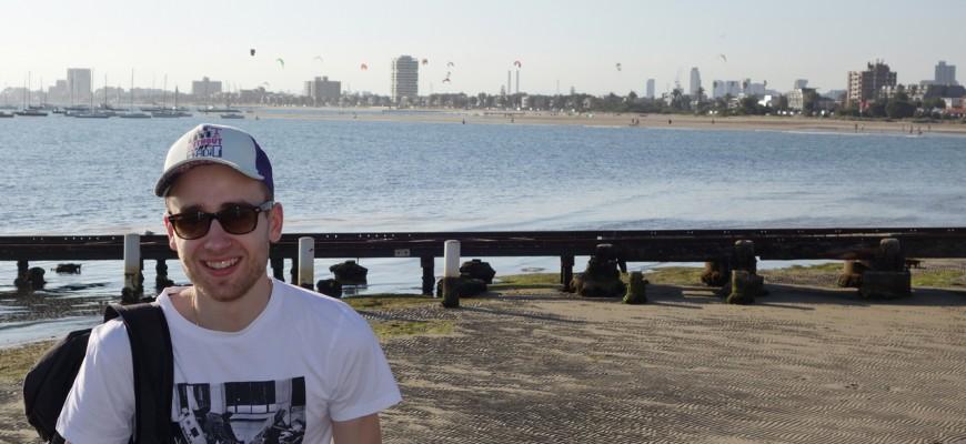 Plage de St Kilda à Melbourne
