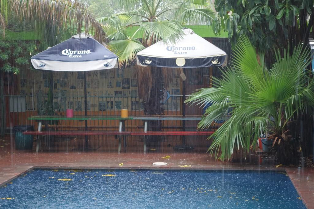 Pluies tropicales à Alice Springs