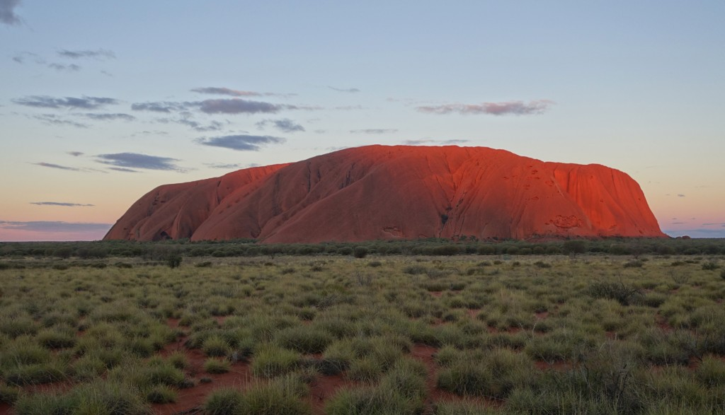 Ayers Rock, sunset