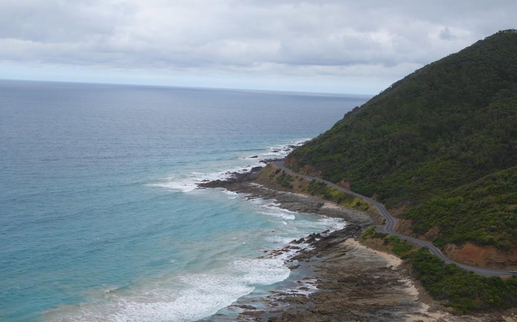 Les lacets de la Great Ocean Road