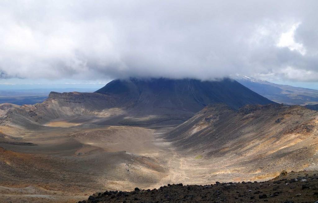 Vue sur le Mt Ngauruhue