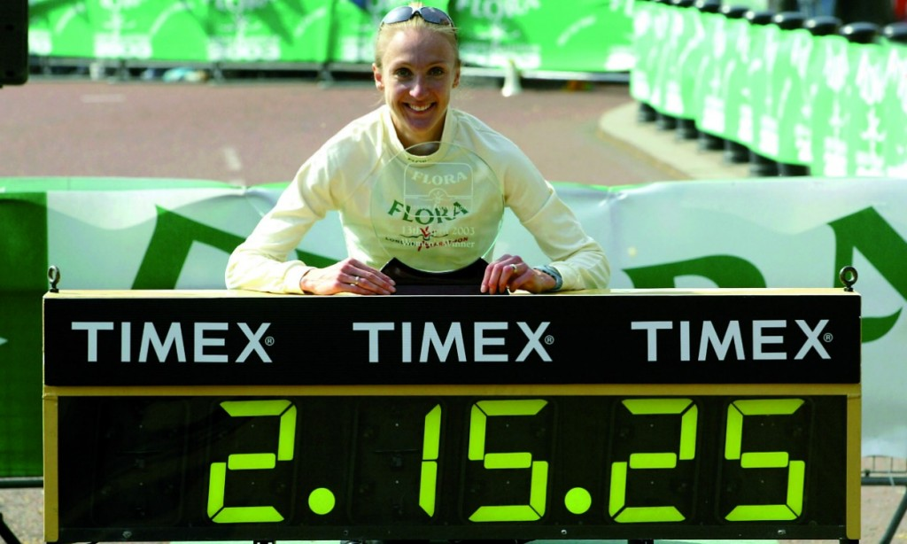 Paula Radcliffe - Londres 2003
