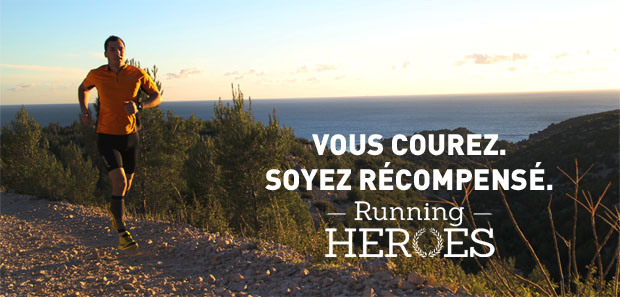 Bannière Running Heroes